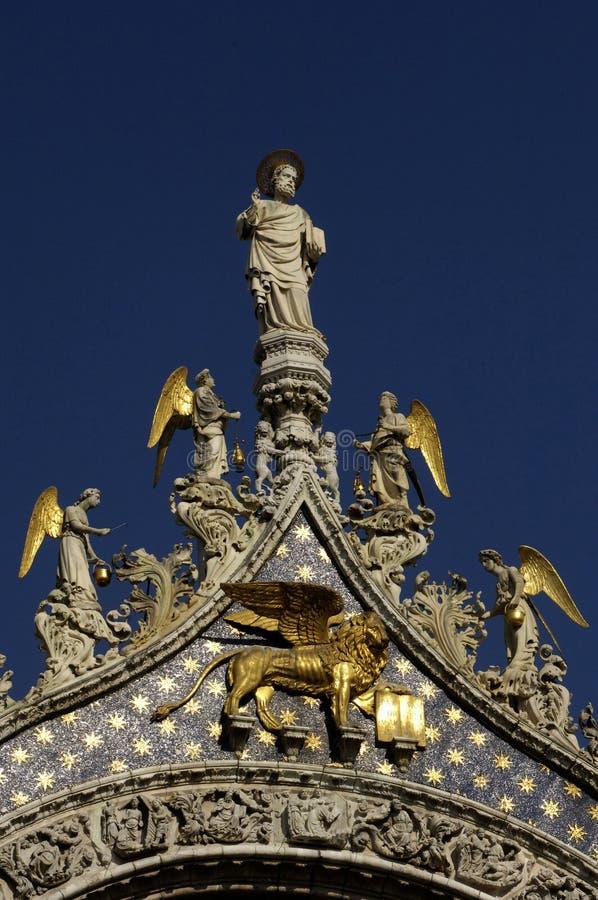 Basilika San Marco in Venedig lizenzfreies stockfoto
