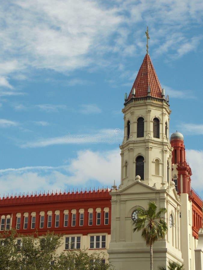 Basilika in St Augustine lizenzfreie stockfotografie