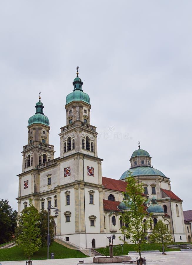 Basilika St. Lorenz kempten herein lizenzfreies stockbild