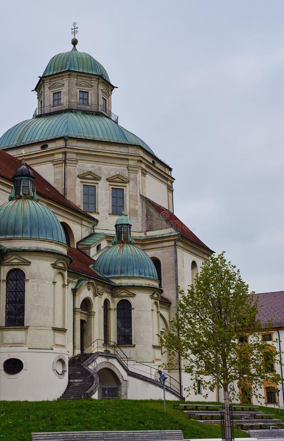 Basilika St. Lorenz kempten herein stockfotografie