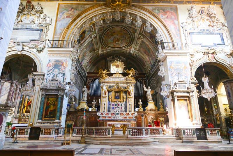 Basilika St. Petero, Vatikan stockfotos