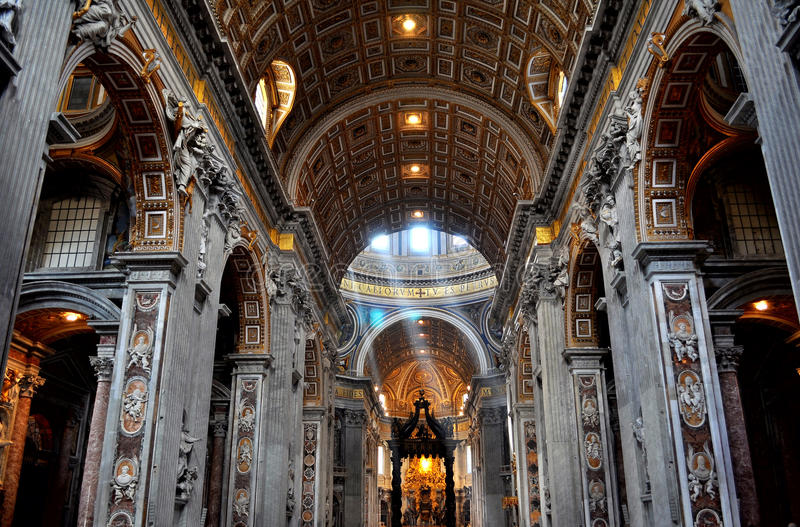 Basilika Str.-Peters lizenzfreies stockfoto