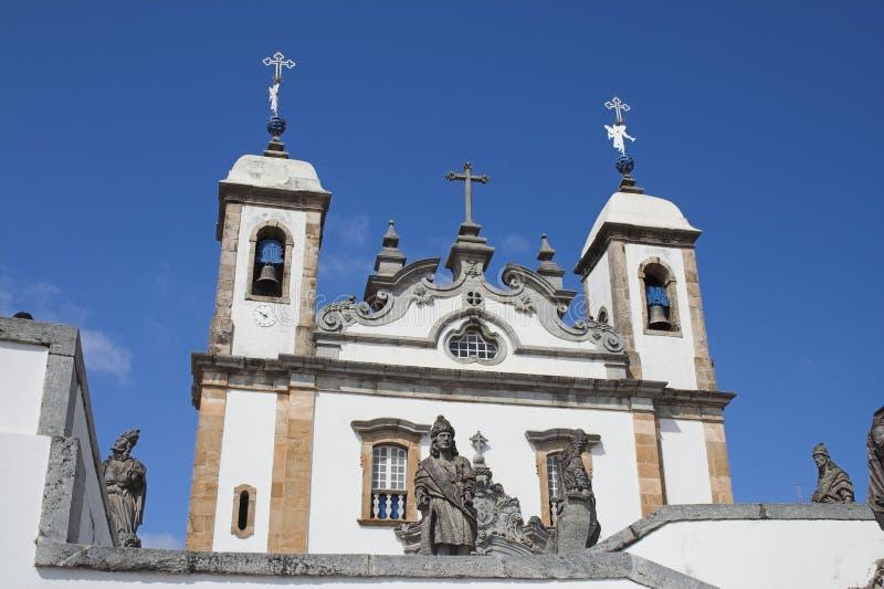 Basilika tun Senhor Bom Jesus de Matosinhos lizenzfreie stockbilder