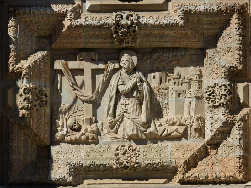 Basilika unserer Dame der Einsamkeit in Oaxaca de Juarez, Mexiko lizenzfreies stockfoto