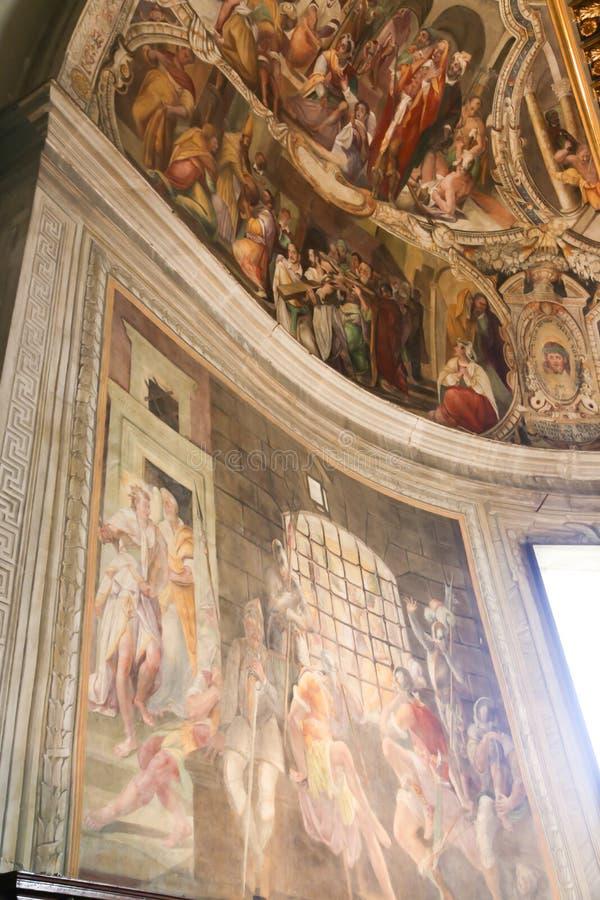 Basilika - Vaticanen, Italien arkivfoton