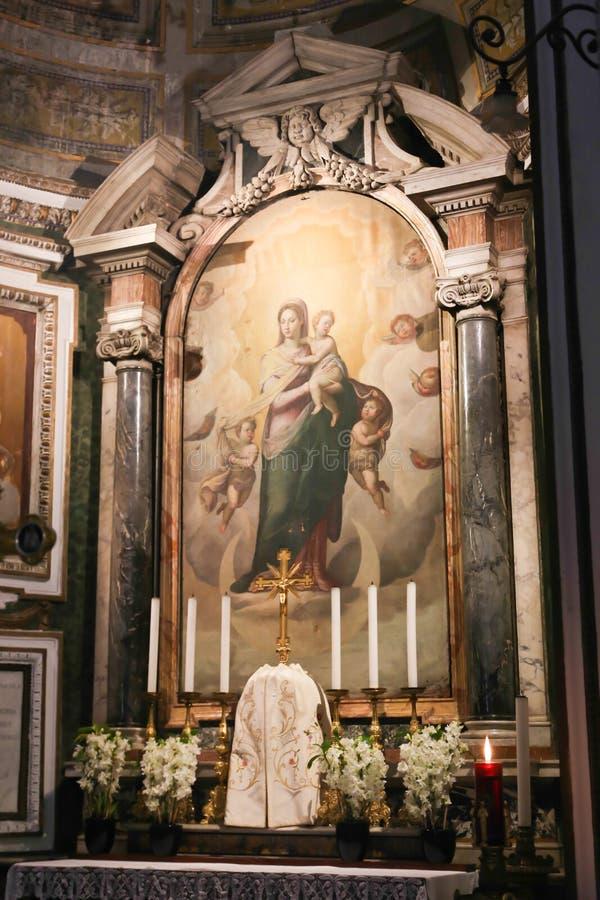 Basilika - Vaticanen, Italien royaltyfria bilder