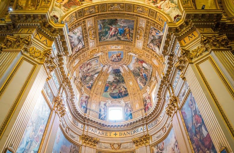Basilika von Sant-` Andrea della Valle in Rom, Italien lizenzfreie stockbilder
