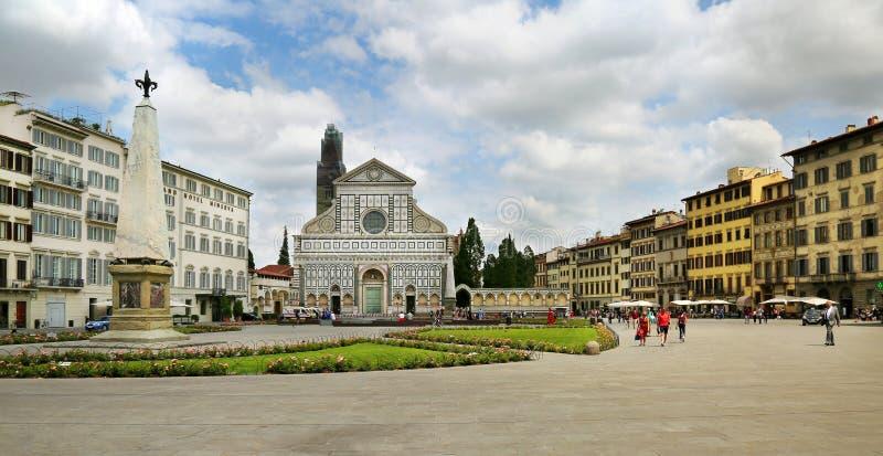 Basilika von Santa Maria Novella Florence, Italien lizenzfreies stockbild