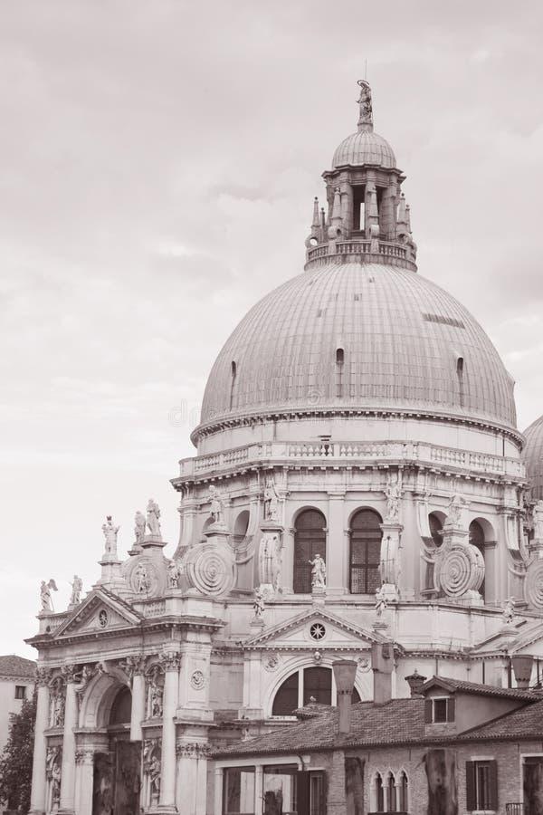 Basilikadi Santa Maria della Salute Church, Venedig; Italien royaltyfri bild