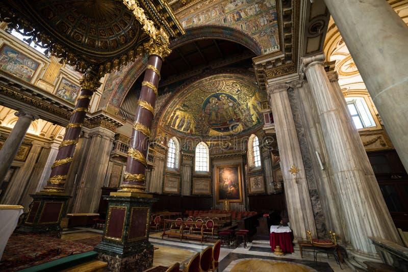 Basilikadi Santa Maria Maggiore stockfotos