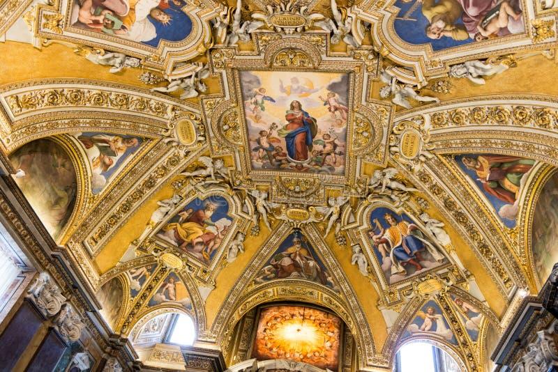 Basilikadi Santa Maria Maggiore lizenzfreies stockfoto