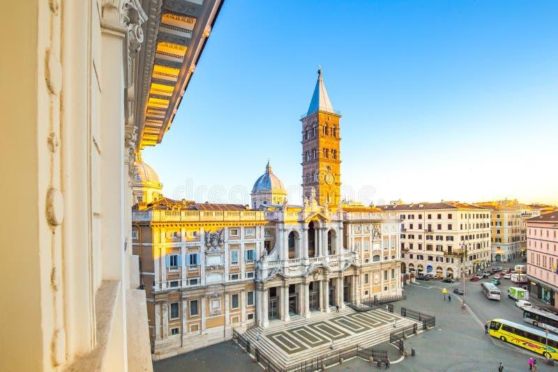 Basilikadina Santa Maria Maggiore i Rome, Italien royaltyfri bild