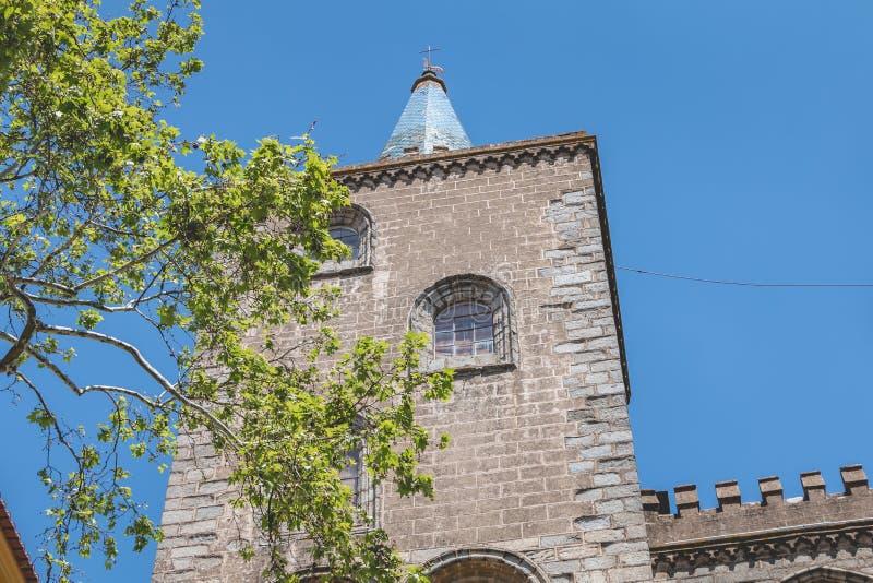 Basilikadomkyrka vår dam av antagandet av Evora royaltyfria bilder