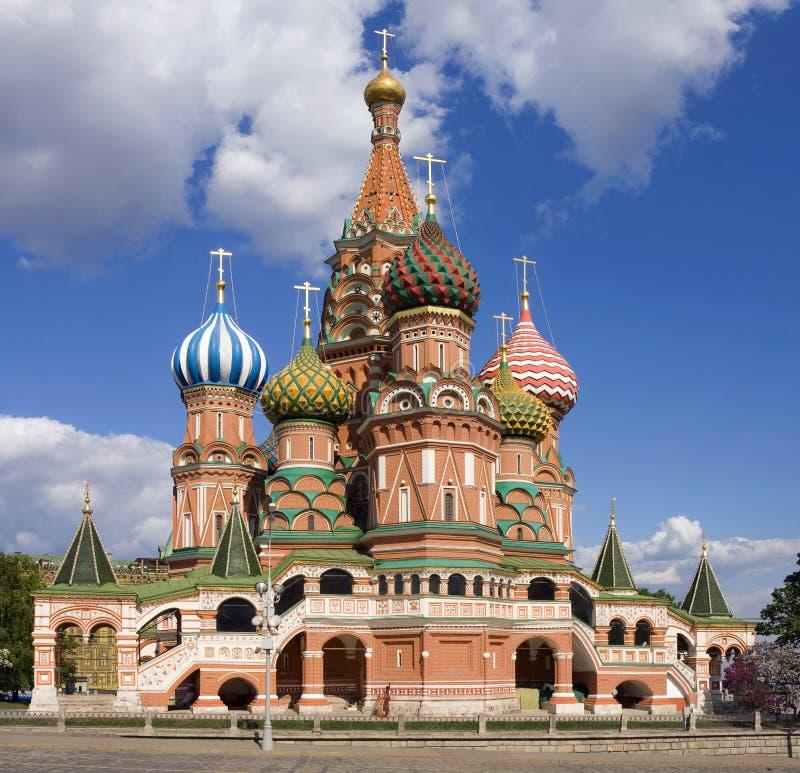 basilikadomkyrkamoscow röd russia fyrkantig st royaltyfri foto