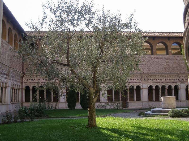 Basilikakloster för St John Lateran i Rome fotografering för bildbyråer
