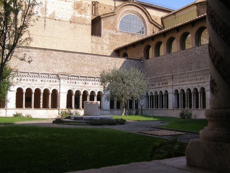Basilikakloster för St John Lateran i Rome royaltyfri foto