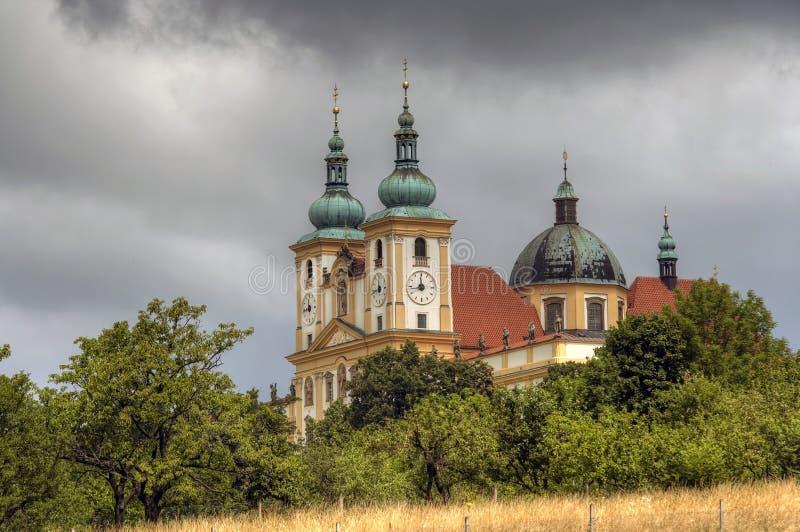Basilikaminderårig royaltyfri bild