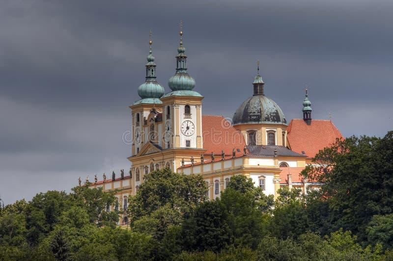 Basilikaminderårig av umgänget av den jungfruliga Maryen royaltyfri foto