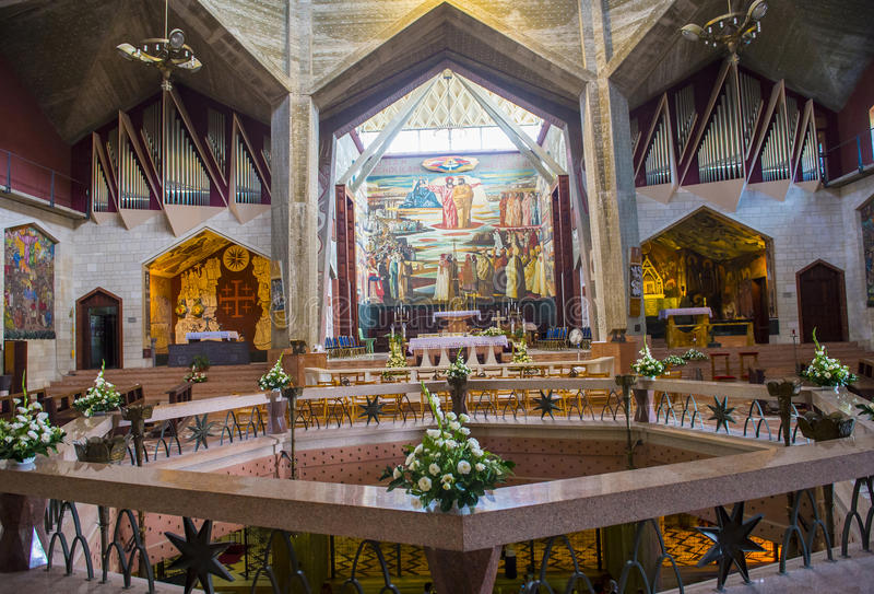 Basilikan av förklaringen arkivbild