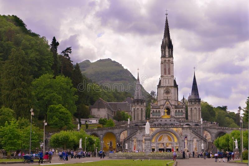 Basilikan av vår dam av den obefläckade befruktningen royaltyfri bild