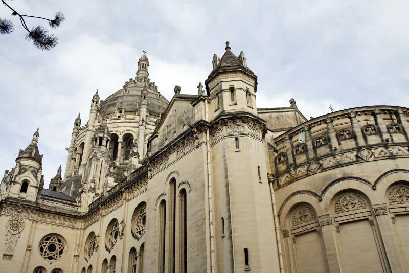 Download Basilikaoberseite stockbild. Bild von kirche, normandie - 27732223