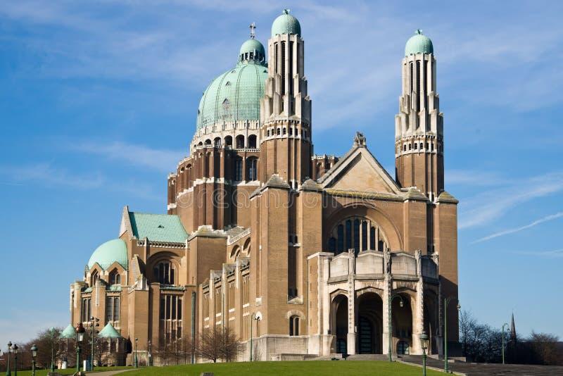 basilique Coeur Du Obywatel sacre obraz stock