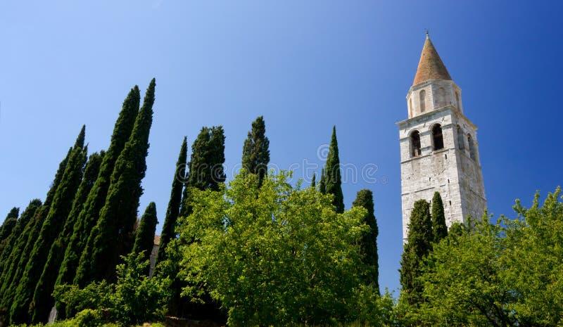 Basilique d'Aquileia photographie stock libre de droits