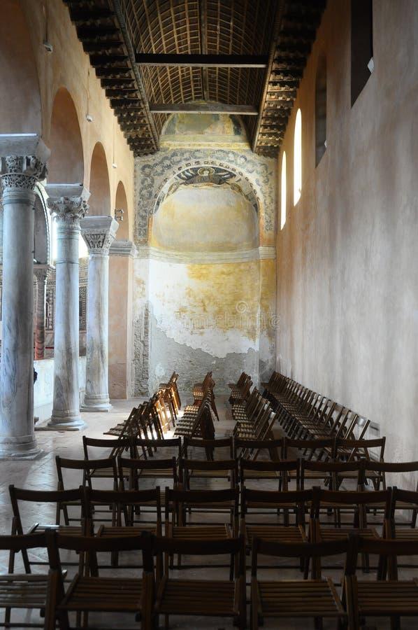 Basilique d'Euphrasian dans Porec, Croatie photo stock