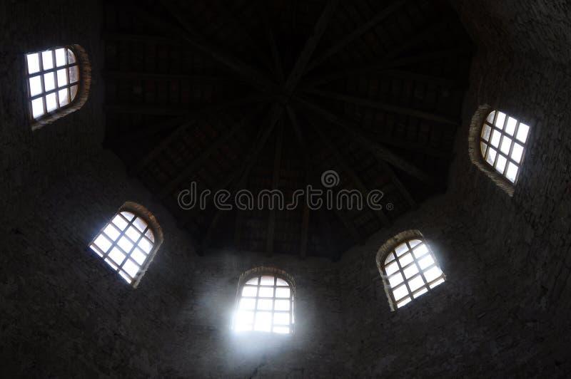 Basilique d'Euphrasian dans Porec, Croatie images libres de droits