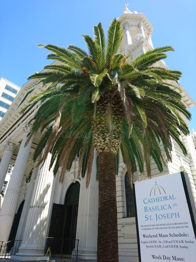 Basilique de cathédrale de St Joseph photo libre de droits