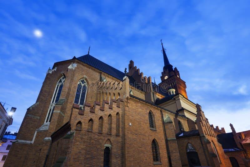 Basilique de cathédrale de la nativité de Vierge Marie béni dedans photographie stock libre de droits