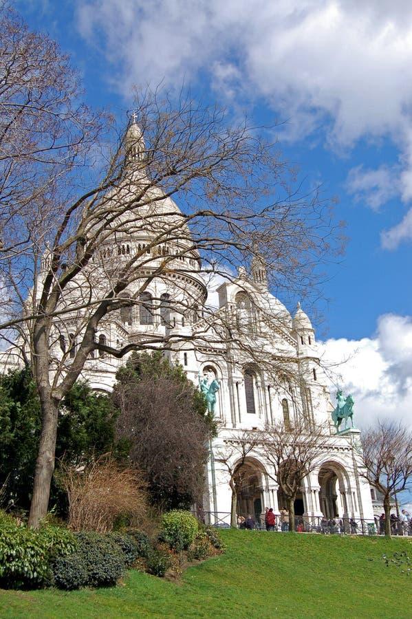 Basilique de coeur de Sacre - Paris photographie stock libre de droits