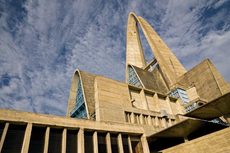 Basilique de Higuey - république dominicaine image stock