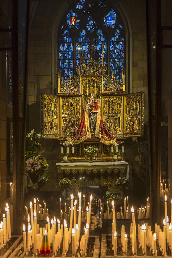 Basilique de notre Madame - Maastricht - Pays-Bas photographie stock libre de droits