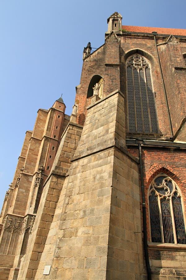 Basilique de nysa de St Jacob et d'Agnès images libres de droits