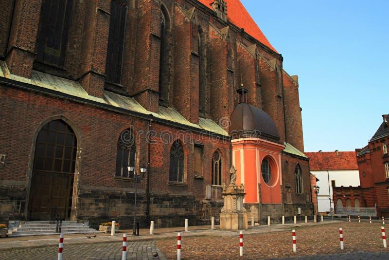 Basilique de nysa de St Jacob et d'Agnès image libre de droits