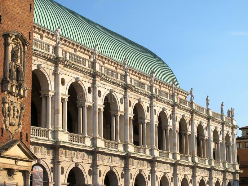 Basilique de Palladian à Vicence, Italie photos libres de droits