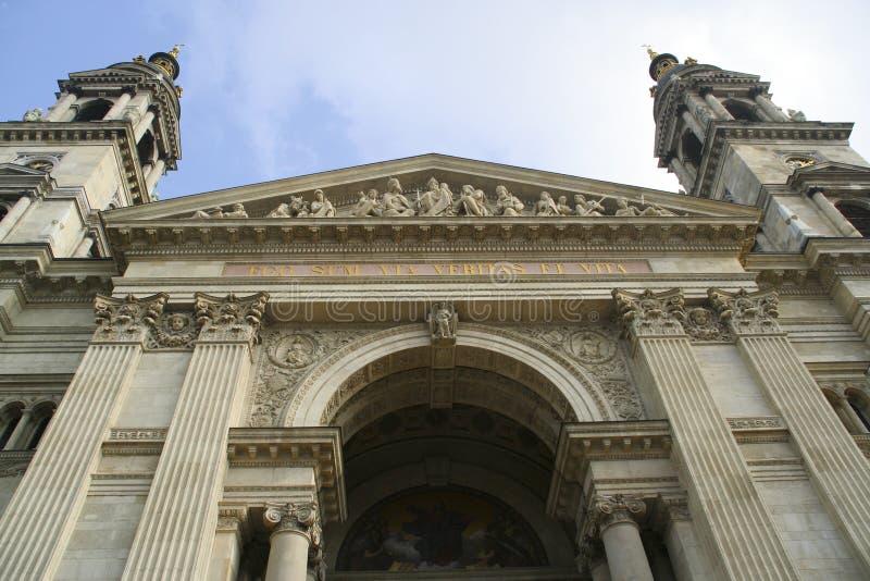 Basilique de rue Stephen à Budapest, Hongrie images libres de droits