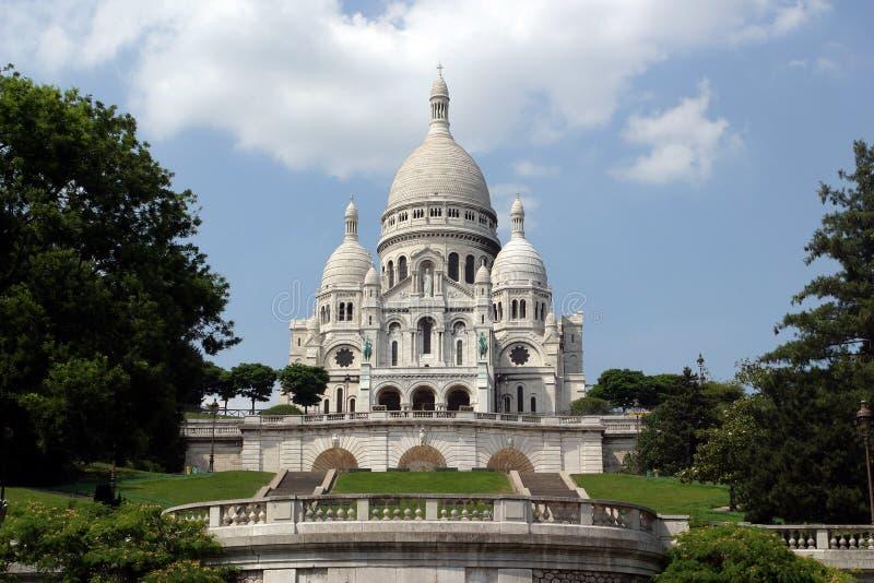 Basilique de Sacre Coeur, Paris photo libre de droits