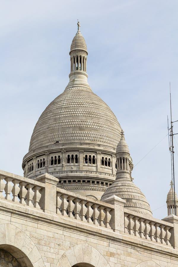 Basilique de Sacre Couer chez Montmartre à Paris photo libre de droits
