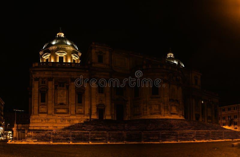 Basilique de saint Mary Major à Rome, Italie photo libre de droits