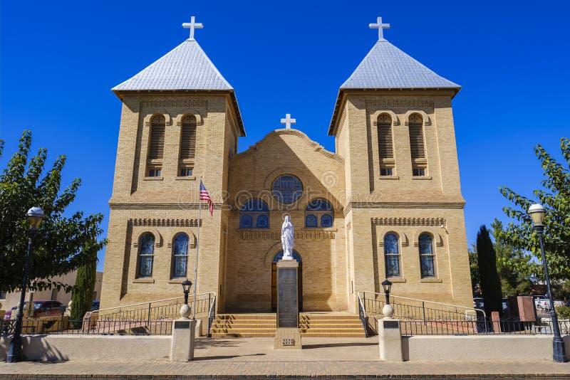 Basilique de San Albino photo libre de droits
