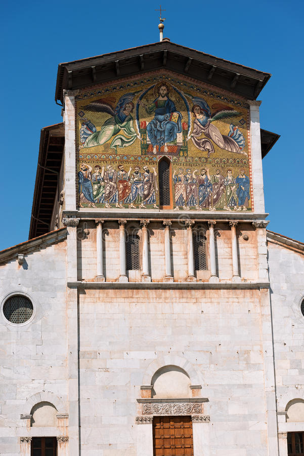 Basilique de San Frediano - Lucques Italie photo stock