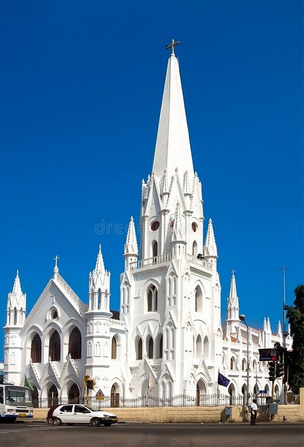 Basilique de San Thome photos stock