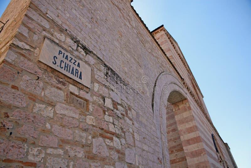 Basilique de Santa Chiara photographie stock