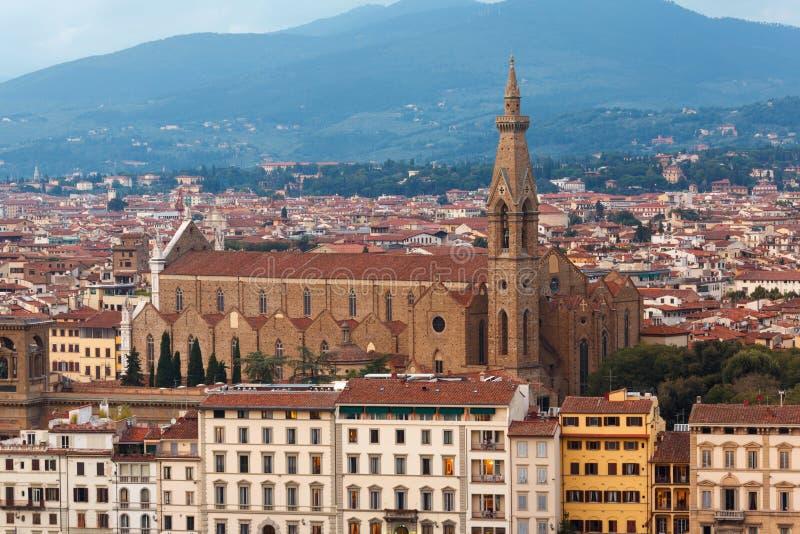 Basilique de Santa Croce images libres de droits