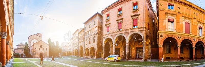 Basilique de Santo Stefano dans la ville de Bologna, Italie photo libre de droits