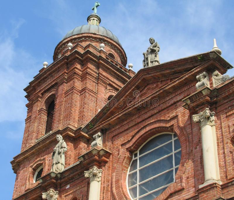 Basilique de St Lawrence à Asheville image stock
