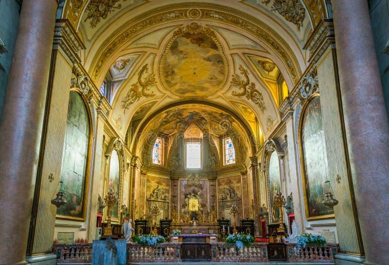 Basilique de St Mary des anges et les martyres à Rome, Italie photos libres de droits