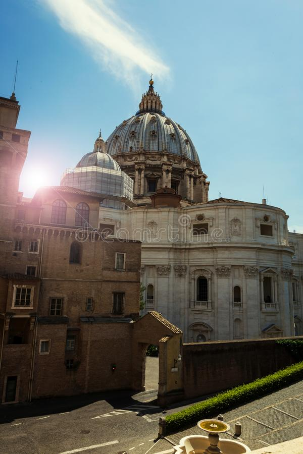 Basilique de St Peter ? Vatican photo libre de droits